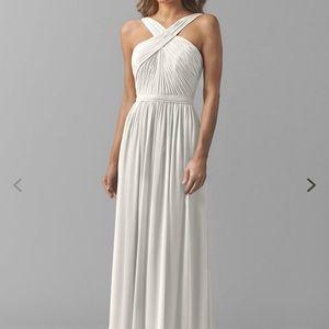 Watters Micah White Bridesmaid Dress Size 4